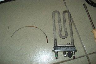 Стиральная машина Indesit, извлечение постороннего предмета