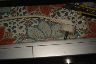 Неисправная сетевая вилка в стиральной машине LG