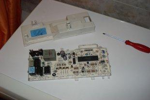 Блок управления стиральной машины Аристон