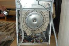 Стиральная машина BOSCH в разобранном виде