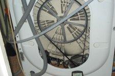 Стиральная машина Indesit в разобранном виде