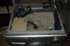 Стиральная машина Samsung - съем верхней крышки