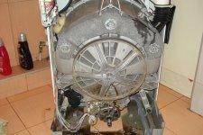 Стиральная машина Electrolux со снятым корпусом