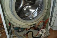 Замена подшипника в стиральной машине HANSA