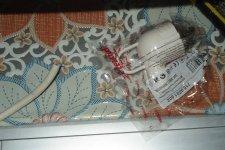 Новая вилка для сетевого шнура стиральной машины