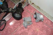 Замена сливного насоса в стиральной машине BOCSH
