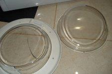 Стекло для люка стиральной машины Индезит