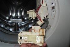 Стиральная машина Zanussi, замена блокировки люка