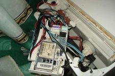Доступ к блоку управления в стиральной машине АРДО