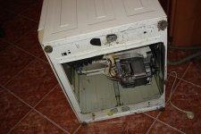 Снятие задней крышки стиральной машины BOSCH