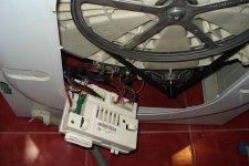 Блок управления стиральной машины Ariston