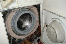 Съем передней крышки стиральной машины BOSCH