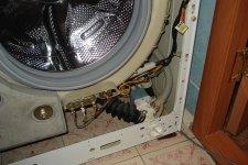 Снятие корпуса со стиральной машины Beko