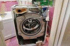 Стиральная машина Электролюкс в разоранном виде