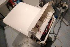 Стиральная машина АРДО в разобранном виде