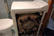 Стиральная машина АРДО без боковой крышки
