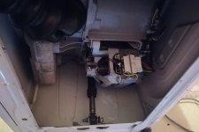 Стиральная машина БЕКО в разобранном виде