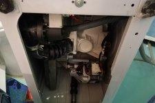 Стиральная машина Индезит без боковой стенки
