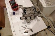 Замена щеток в двигателе стиральной машины БОШ
