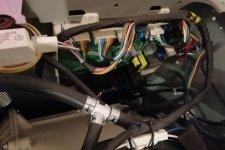 Стиральная машина Daewoo в разобранном виде