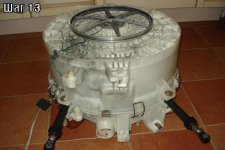 Съем приводного мотора стиральной машины