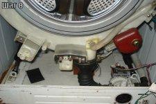 Съем нижнего утяжелителя стиральной машины